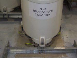 Substations and Liquid Fuel Tanks