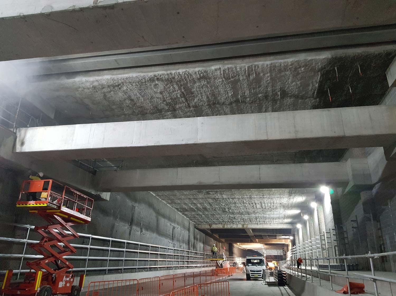 West Connex Tunnel 2018